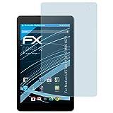 atFolix Displayschutzfolie für Medion LIFETAB P10610 (MD61078) Schutzfolie - 2 x FX-Clear kristallklare Folie