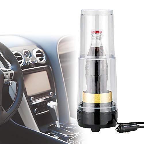 Monsterzeug Temperierter Getränkehalter Fürs Auto, 2 in 1 Getränke Kühlen und warmhalten, Thermogerät