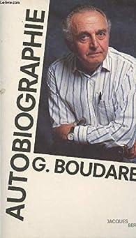 Autobiographie par Georges Boudarel