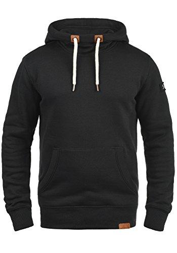 SOLID TripTall Herren Kapuzenpullover Hoodie Sweatshirt aus hochwertiger Baumwollmischung Black (9000)