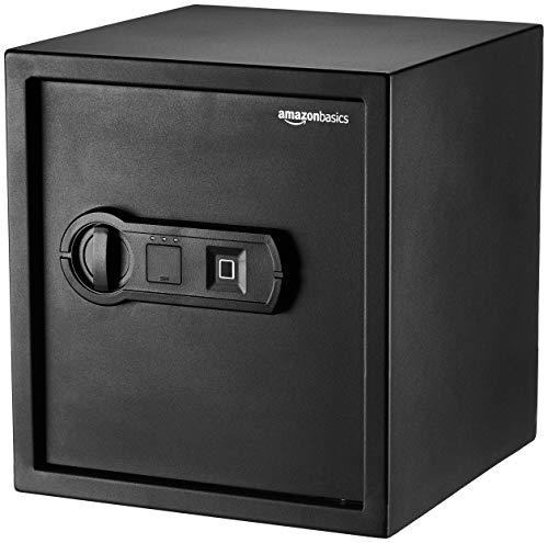 AmazonBasics - Biometrischer Tresor mit Fingerabdruck-Verschlusssystem, 40 l