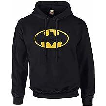 Batman-Sudadera con capucha, unisex, con logotipo de Batman