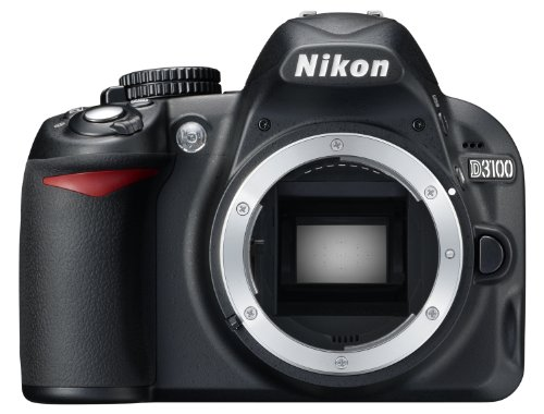 Nikon D3100 SLR-Digitalkamera (14 Megapixel, Live View, Full-HD-Videofunktion) Gehäuse (1080p-video-kamera Nikon)