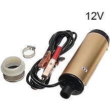 Starmood - Filtro de bomba de transferencia de combustible eléctrico sumergible para aceite de queroseno líquido