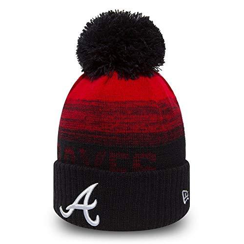 New Era MLB ON-Filed Fleece Winter Mütze - Atlanta Braves
