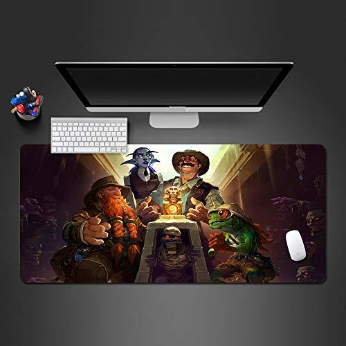 Mauspad 900X400*3Mm Mausunterlagen Mousepad Berufsspiel-Spieler-Auflage-Spiel Mousepad Tastatur-Tischset Beste Geschenke