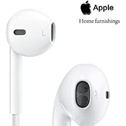100% Original & Genuine Apple iPhone EarPods & Earphone For 4/ 4S/ 5/ 5S/ 6/ 6S With Mic and Sound Control Comes With 1 Month Replacement Warranty