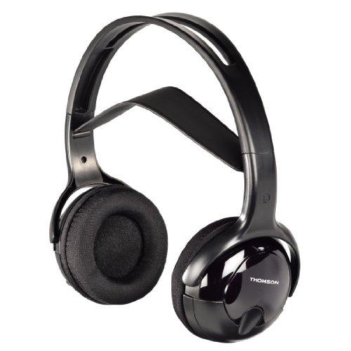 Thomson Kabelloser Kopfhörer WHP1211 (Over-Ear, Stereo, Infrarot, Reichweite 10 m) schwarz
