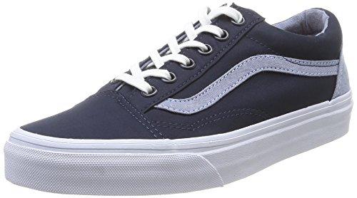 Vans U Old Skool, Baskets mode mixte adulte Bleu (Dress Blues/Captain's Blue)
