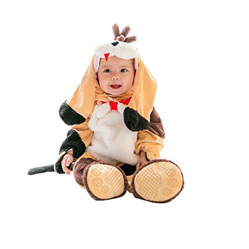Kostüm Hunde Kleinkind Jungen - Wetry - 3PC Baby Kleinkind Halloween Karneval Cosplay Fotografie Kostüm Sets für Jungen und Mädchen