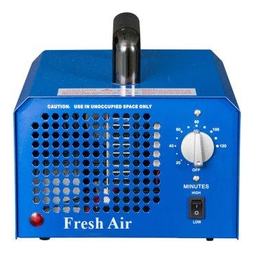 Pro-ozon-generator (Kommerzieller Ozonisator 7000mg 03, industrieller Ozon Luftreiniger, schwarz, Luftverbesserer, Luftsterilisator Ozone Generator)