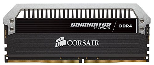 Deals For Corsair CMD8GX4M2B4000C19 Dominator Platinum DDR4 8 GB (2 x 4 GB ) 4000 MHz C19 XMP 2.0 Enthusiast Desktop Memory Kit with Dominator Airflow LED Fan Kit