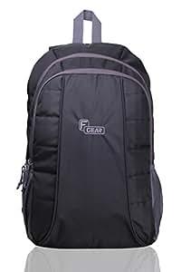 F Gear Carlton Lite 23.5 Liters Black Black Laptop Backpack