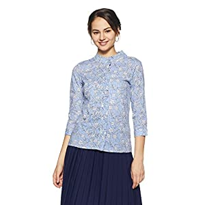 Amazon Brand – Symbol Women's Floral Regular Fit Top