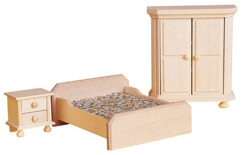 "Rlke Holzspielzeug 22426 - Camera da letto \Rustikal\"""""
