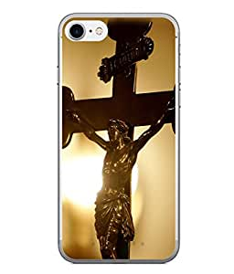 PrintVisa Juesus On Cross High Gloss Designer Back Case Cover for Apple iPhone 6