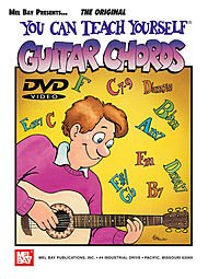 YOU CAN TEACH YOURSELF GUITAR CHORDS  PARTITURAS  DVD (REGION 0) PARA GUITARRA