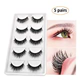 3D Real Mink False Eyelashes, Handmade Reusable Mink Lashes, Luxurious Wispy Natural Thick