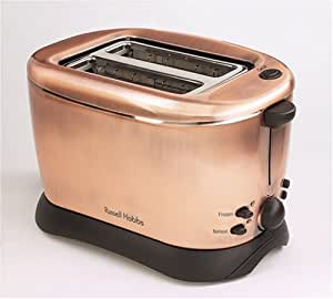 russell hobbs copper 2 slice toaster 10788 kitchen home. Black Bedroom Furniture Sets. Home Design Ideas