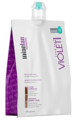 MineTan Violet, Autobronceador corporal - 1000 ml.