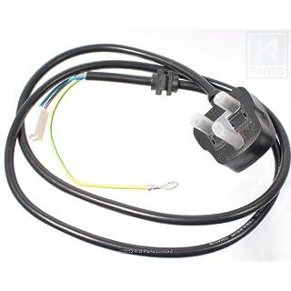 KitchenAid KSB555 Artisan Blender Power Cord Black (UK plug)