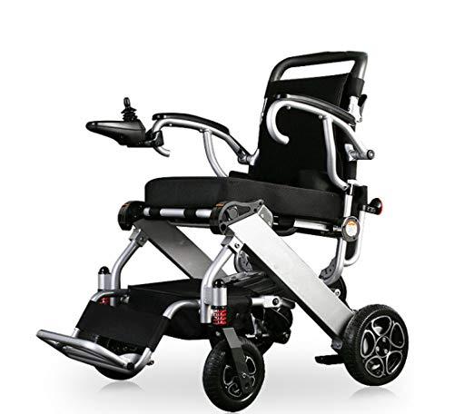 Lunyi Elektro-Rollstuhl-Smart-Elektroauto Vollautomatischer, Zusammenklappbarer Leichtgurtsitz Für Behinderte Ältere Roller,C,Rollstuhl - Elektro-roller-rampen