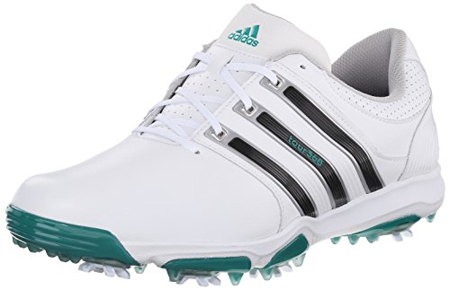 adidas Golf Men's Tour 360 X, White/Core Black/Red, 9 D(M) US
