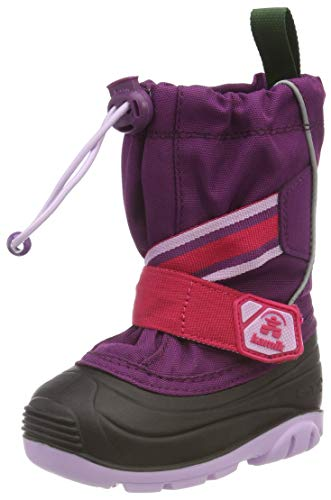 Kamik Unisex-Kinder Ziggy Schneestiefel, Violett (Grape-Raisin Gra), 24 EU