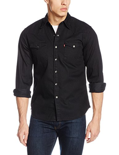 levis-mens-barstow-western-casual-shirt-black-black-x-large