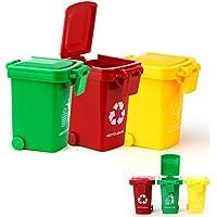 XPGG Véhicule Miniature - Poubelles déchets(3 Petites