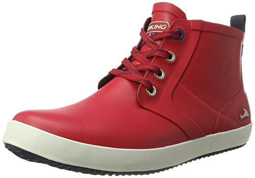Viking Lillesand Jr, Botas de Agua Unisex Adulto, Rojo (Red/Black 1002), 41 EU