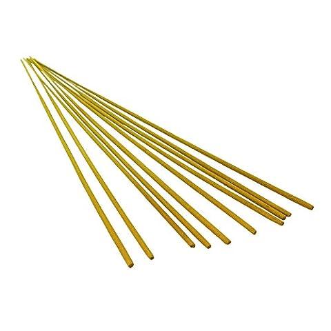 Bid Buy Direct® Lot de 10longs bâtons en bois d'encens Citronnelle–Simplement laisser Smoulder dans votre jardin et profitez de l'extérieur–également idéal pour les vacances, Le Camping ou Festivals