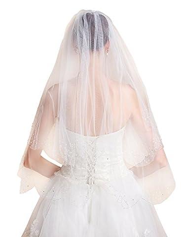 Icegrey Voile De Mariée Voile Fait à La Main 2