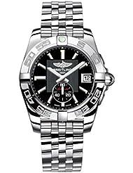 Breitling Damen-Armbanduhr Galactic Chronograph Automatik Edelstahl A3733012/BA33/376A