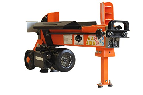 HEAVY DUTY ELECTRIC LOG SPLITTER HYDRAULIC WOOD CUTTER 7 TON WITH DUOBLADE Test