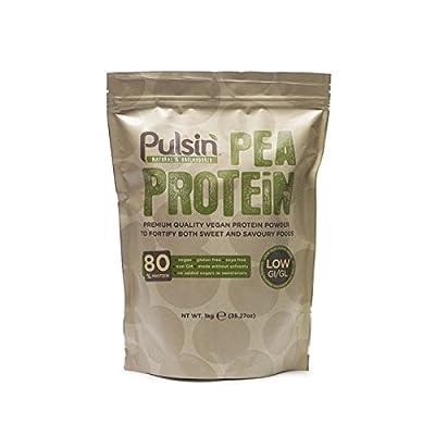Pulsin' Unflavoured Pea Protein Powder, 1kg