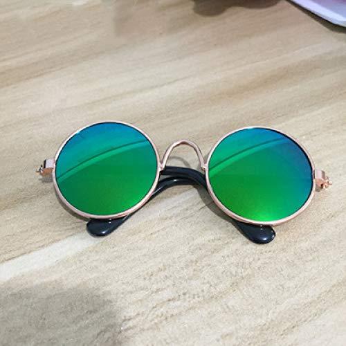 Nermal Kostüm - MYYXGS Pet Sonnenbrille Metallrahmen kleine runde
