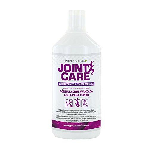 Joint Care de HSN Essentials - Antiinflamatorio Natural Complejo de Glucosamina Condroitina y MSM para la salud y el dolor de las articulaciones, Colágeno Vitamina B12-1000ml