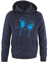 BLUES BROTHER - ELWOOD & JAKE - Herren Hoodie Gr. S bis XXL Diverse Farben