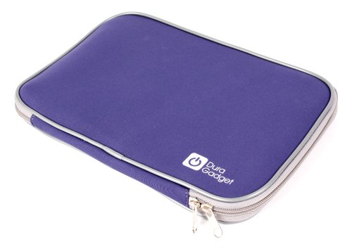 Stylisches, blaues Neopren-Case für portable Reise DVD-Player (L: 27.5 cm, B: 18.75 cm) Portable Dvd Player Case