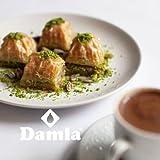 Damla Baklava Pistazie Baklawa Frisch Türkische Süßigkeit Original aus Antep (S - 250g)