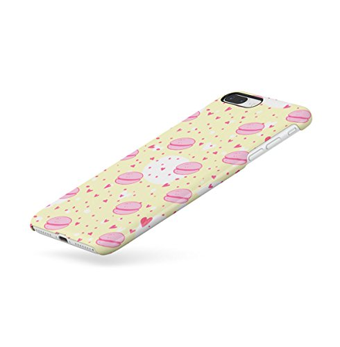 Sweet Candies Lollipops Cupcakes Pattern Apple iPhone 7 Snap-On Hard Plastic Protective Shell Case Cover Custodia French Macarons