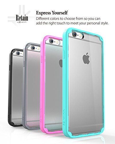 "Vena RETAIN PC + TPU Case Cover hülle für Apple iPhone 6/6s (4.7"") - Teal Gunmetal"