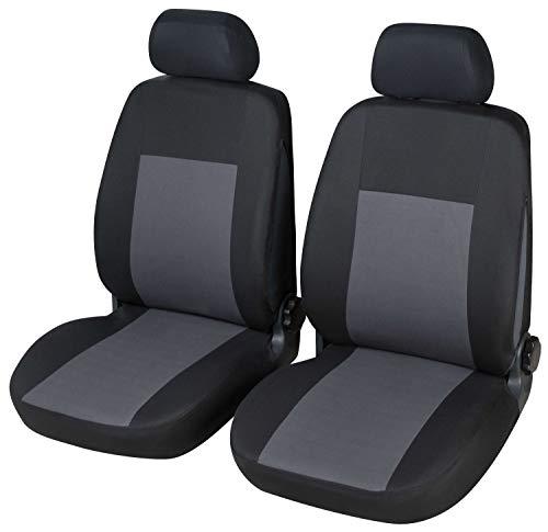 Coprisedili Anteriori Giulietta Versione (2010 - in Poi) compatibili con sedili con airbag, con Fori per i poggiatesta e bracciolo Laterale
