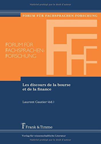 Acheter maintenant! Les discours de la bourse et de la finance (French Edition)
