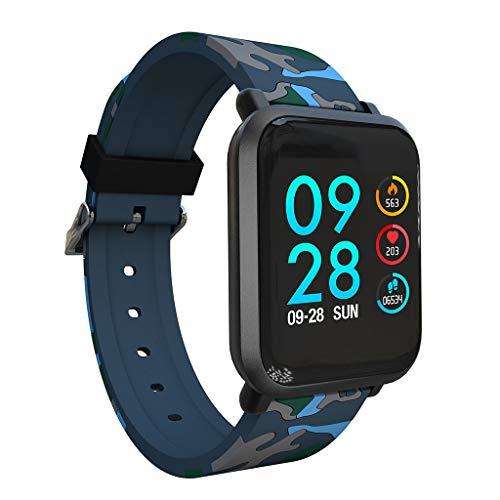 LCLrute Premium Smartwatch IPX67 Wasserdichte Sport Für Android IOS Mit Herz Rate Monitor Blutdruck Funktionen Smart Uhr (Ios-8-blutdruck-monitor)