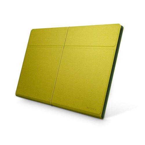 Sony SGPCV4/G.AE Polyesterschutzhülle für XPERIA Tablet S gelb/grün