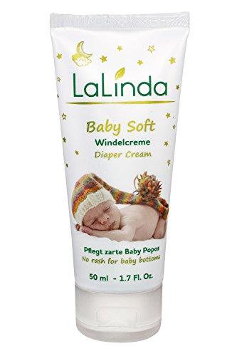 Babypflege Windelcreme Wund Heilsalbe ✔ mit Bienenwachs und Zinkoxid ✔ natürlich und effektiv zur Wundheilung 50ml