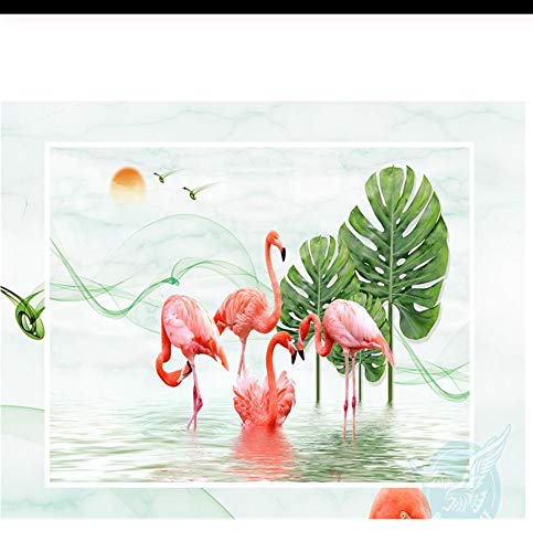 Individuelle fototapeten Beibehang Moderne Kunst Wandbild kirschbaum Wohnzimmer schlafzimmer bett Hintergrund 3d tapeten wallpaper-200X140 CM -