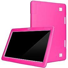 Magiyard Soporte Universal para Funda de Cuero, Tablet PC con Android 10.1 Pulgadas y pestañas